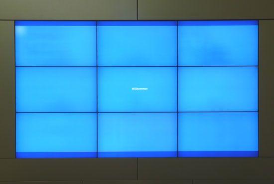 Videowall Wiener Stadtwerke Holding AG